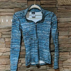 Nike pro zip front running shirt size XS